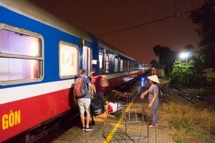 Train From Saigon To Hoi An