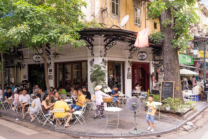 French Cafes Hanoi