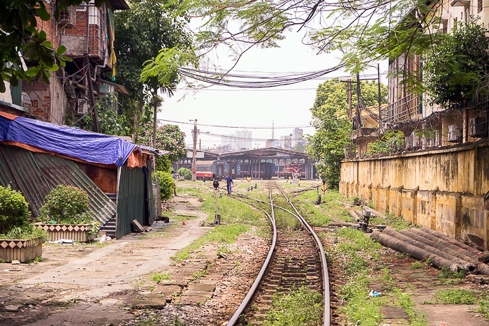Train Tracks Hanoi