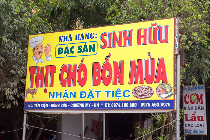 Eating Dog in Vietnam